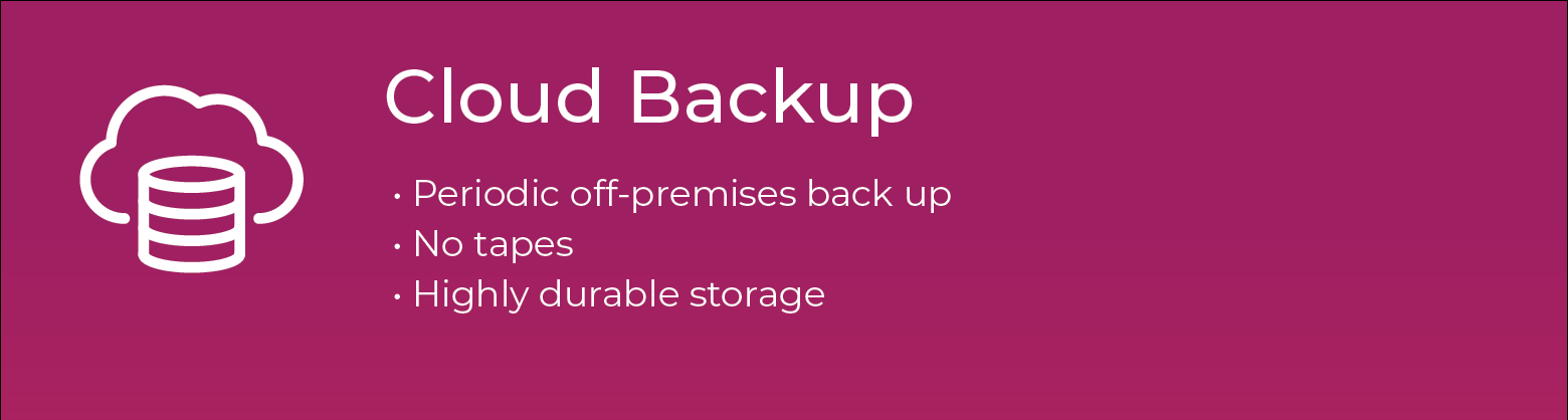 Healthcare Backup and Disaster Recovery